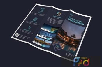 Hotel Trifold PSD Template N447HPJ 3