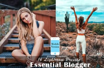 16 Blogger Mobile Lightroom Presets 4532450 14