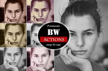 BW Actions for Photoshop 4518460