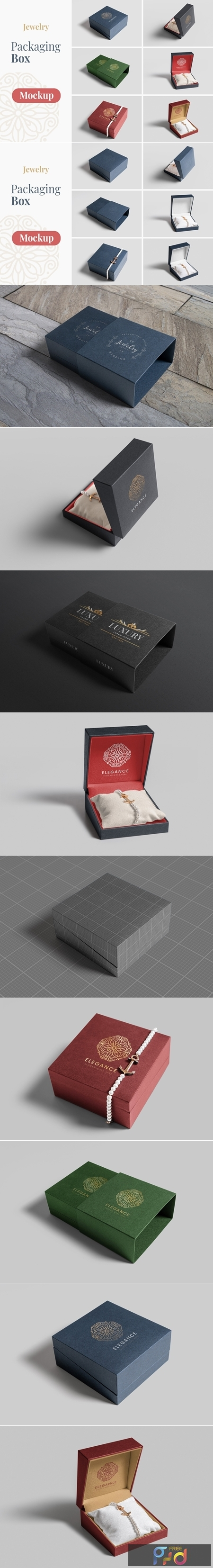 Jewelry Packaging Box Mockups 4554066 1