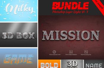 Bundle Photoshop Layer Style 7 4407503 2