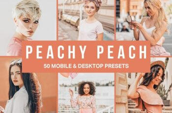 50 Peachy Peach Lightroom Presets 4509941 2