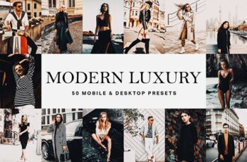 50 Modern Luxury Lightroom Presets 4683256 5