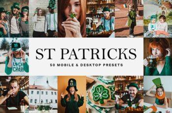 50 St Patricks Day Lightroom Presets 4683367 2