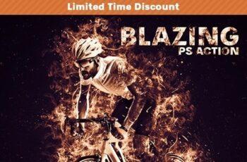 Blazing Photoshop Action 25796890 3