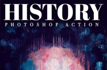 History - Realistic Painting Art Photoshop Action 25767086