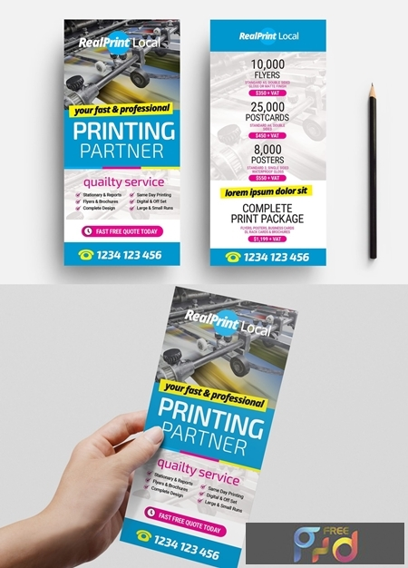 Flyer Layout with Bright Cmyk Elements 330835540 1