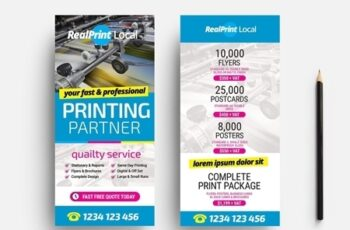 Flyer Layout with Bright Cmyk Elements 330835540 11