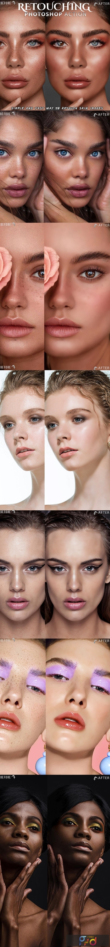 Skin Retouch Photoshop Action 25828641 1