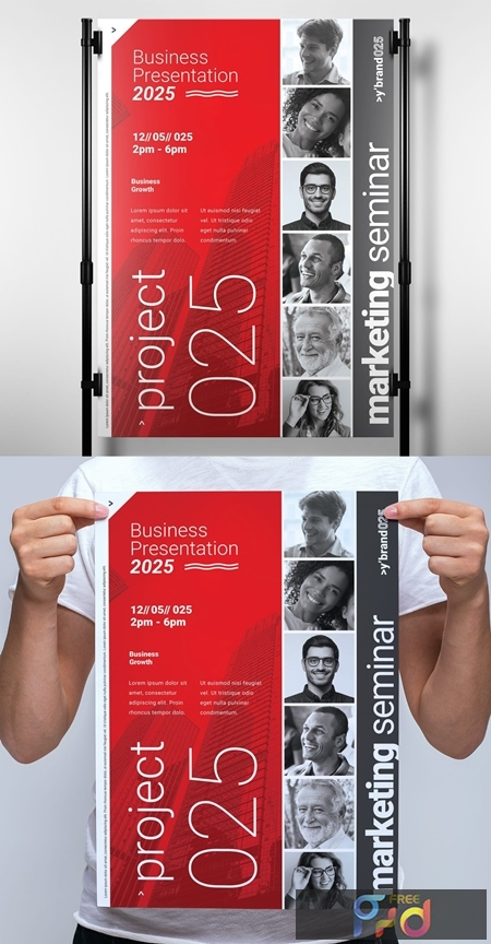 Modern Business Poster with Swiss Design Style 330835701 1