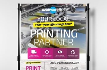 Poster Layout with Bright Cmyk Elements 330835678 6
