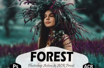 Forest Photoshop Actions and ACR Presets 1629295 7