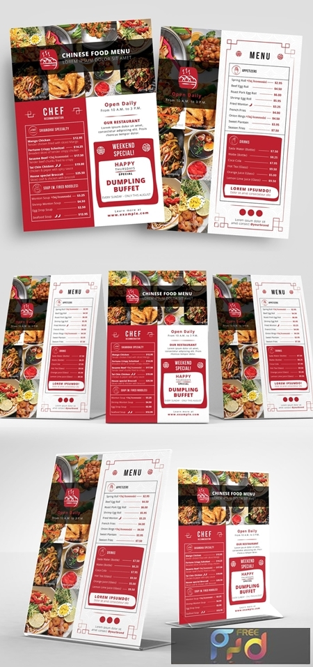 Red and White Takeout Menu Layout 330835512 1