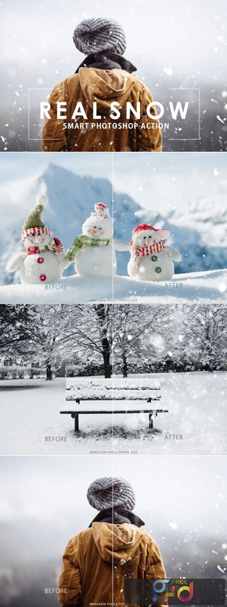 Real Snow Photoshop Action 1723501 1