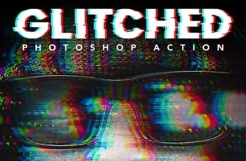 Glitched Photoshop Action 25774601 7
