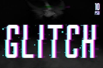 Glitch Text + Glitch Background FX 22420785 7