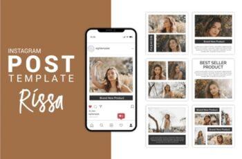 Rissa - Fashion Instagram Post Template 3656095 7