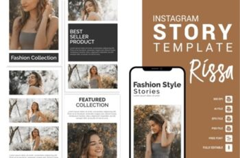 Rissa - Fashion Instagram Story Template 3656096 4