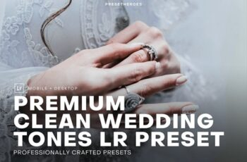 Clean Wedding Lightroom Preset 4552370