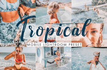 Tropical Mobile Lightroom Presets 4488163 4