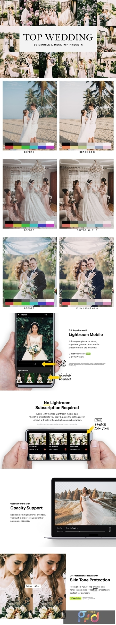 50 Top Wedding Lightroom Presets 4709589 1