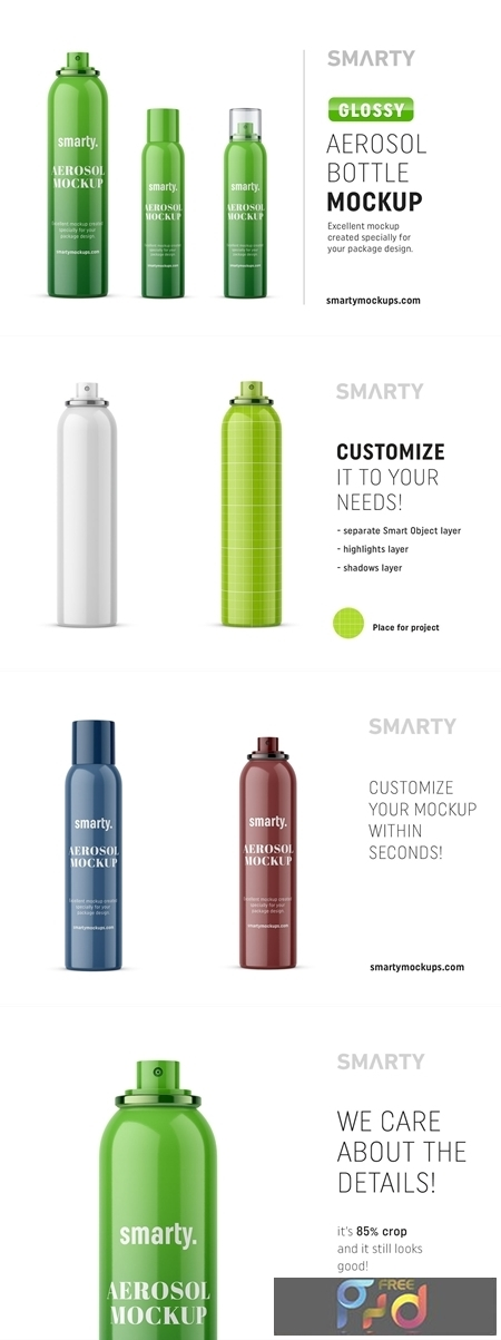 Glossy aerosol bottle mockup 4658939 1