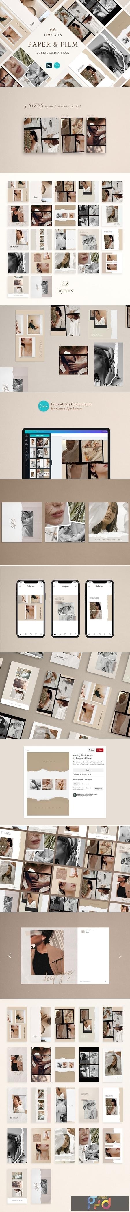 Paper and Film Social Kit 4539877 1