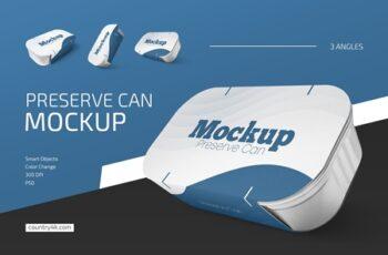 Preserve Can Mockup Set 4578955 3