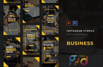 Business Instagram Story Template 6HCNMDP 2