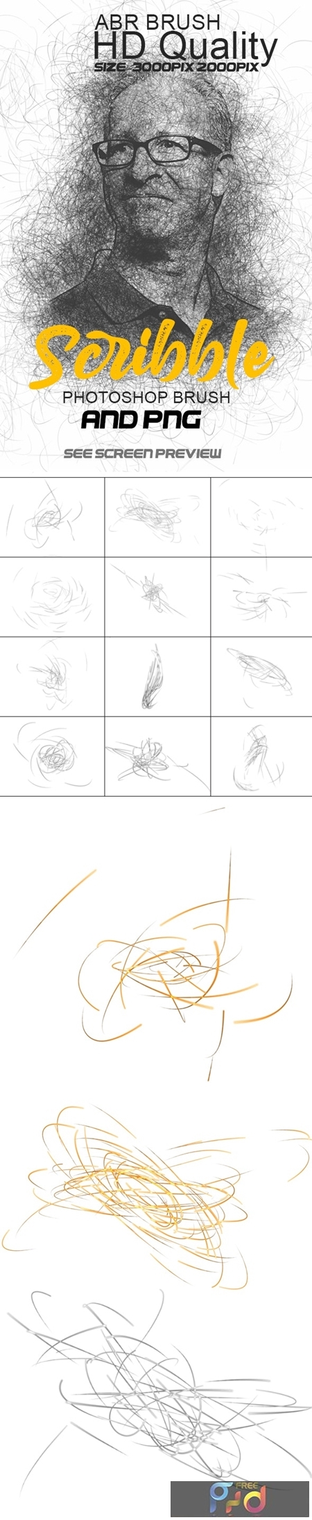 Scribble Photoshop Brushes 25748103 1