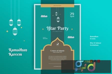 EFTARE Ramadhan Kareem Event Flyer ZXZ7D5N 1