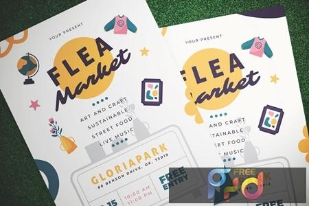 Flea Market Flyer 8FS5CSR 1