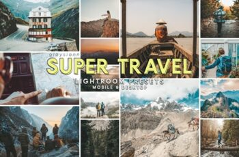 92 Super Travel Preset Bundle 4691416 4