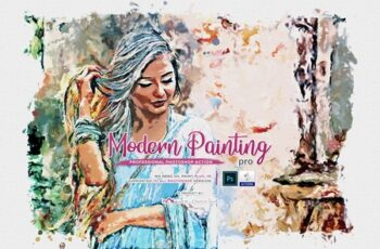 Modern Painting Pro PS Action 4540078 11