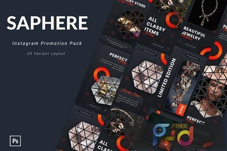 Saphere - Instagram Promotion Pack ASPJVQK 1