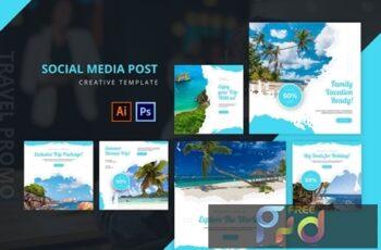 Travel Social Media Post Template L8WQFN9 6