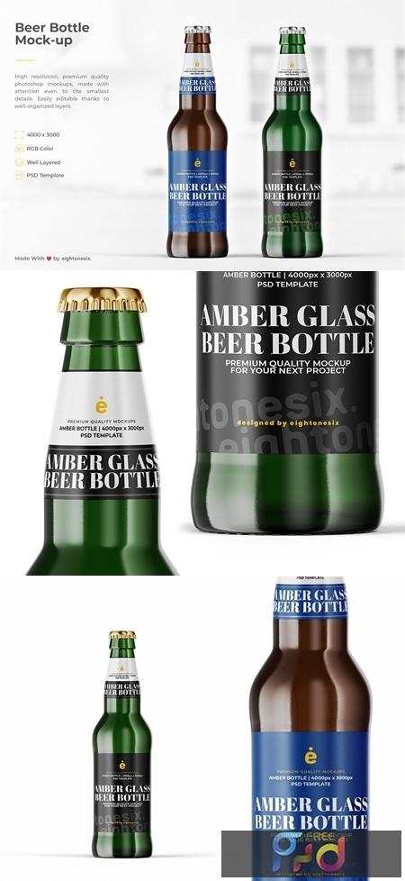 Beer Bottle Mock-Up Template 4707294 1
