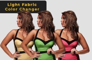 Light Fabric Color Changer - Photoshop Action 26003619 2