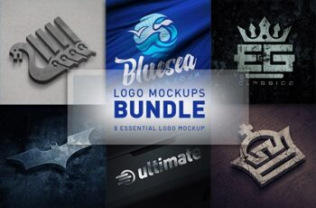 Logo Mockups Bundle 4644618 5