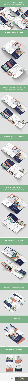Senior Care – Brochures Bundle Print Templates 8 in 1 26046586 1