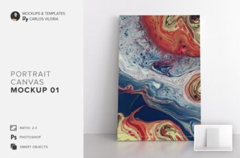 Portrait Canvas Ratio 2x3 Mockup 01 4629863 2
