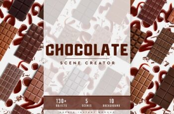 Chocolate Scene Creator #01 4473209 4