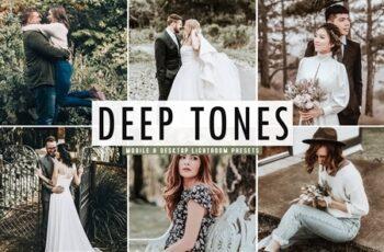 Deep Tones Mobile & Desktop Lightroom Presets 4745105 3