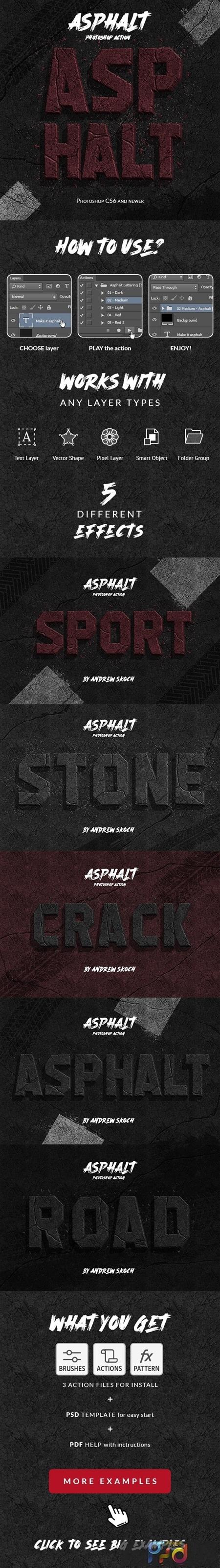 Asphalt - Photoshop Action 26088344 1