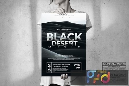 Black Desert Music Event - Big Party Poster Design 7MEDWM9 1