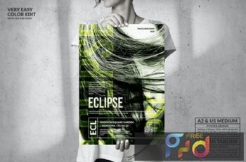 Eclipse Music Event - Big Party Poster Design N5VKPMR 6