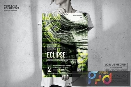 Eclipse Music Event - Big Party Poster Design N5VKPMR 1