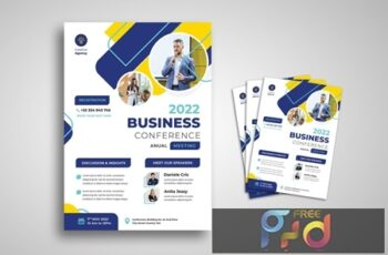 Business Conference Flyer 37RE6SA 3