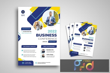 Business Conference Flyer 37RE6SA 1