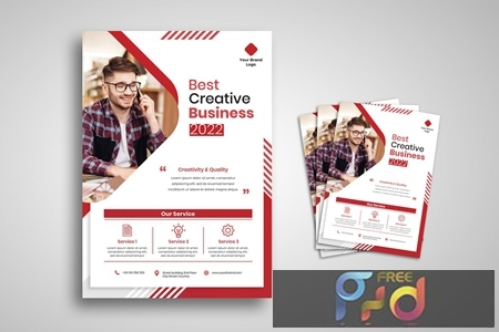 Creative Business Agency Flyer ZB3X6VH 1
